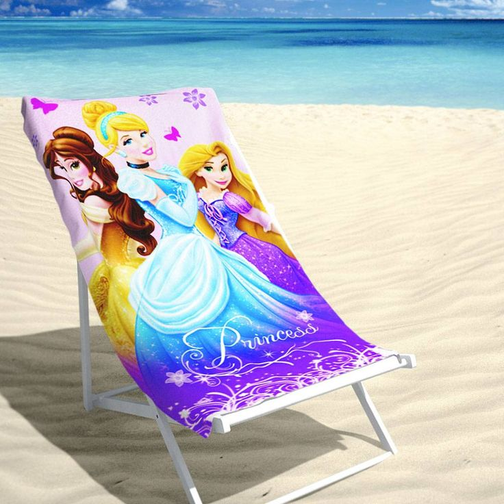 Velours Strandlaken - Disney Princess (70x140cm) #strandhanddoek #strandlaken #disneyprincess