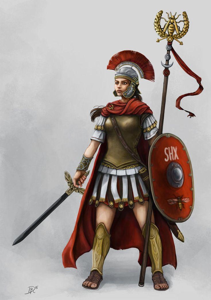 Commission centurionin der legio v shinxira dsa by