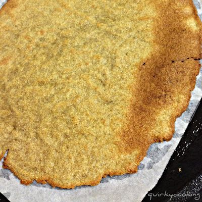 2 Ingredients Quinoa & Chia Seed Flat Bread  >>make this Quirky Cooking