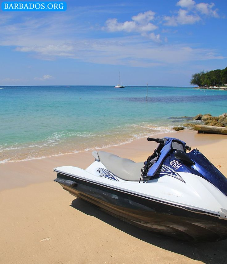 Jump on a jetski and enjoy the clear waters along the west coast of Barbados