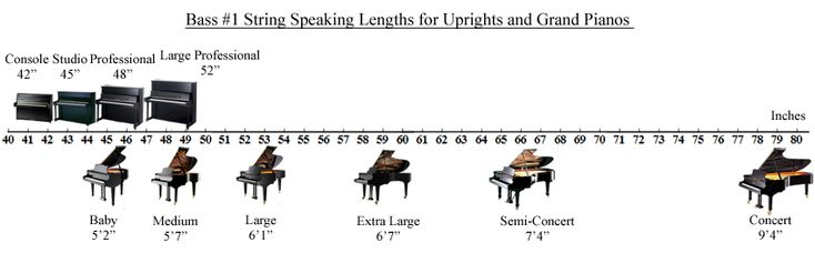 #1 Bass Strings - Speaking Lengths of Pianos