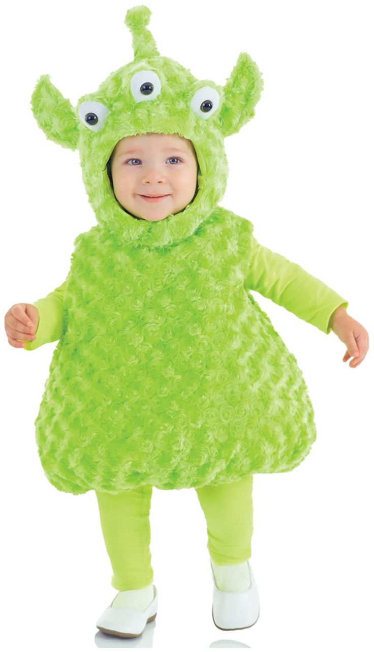 PartyBell.com - Alien Toddler/Child #Costume