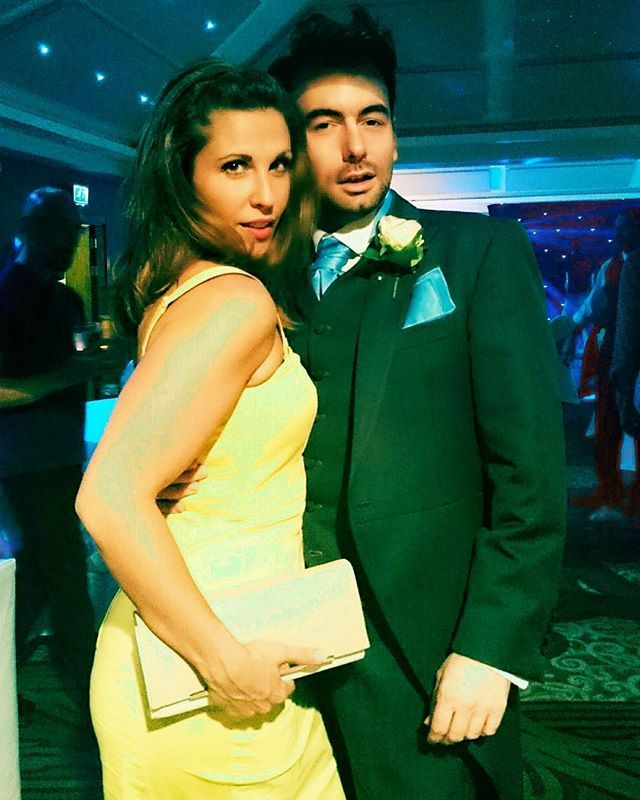 Feels like a lifetime ago, dancing with my best mate at a wedding... In a dress I made myself... #summerlovin