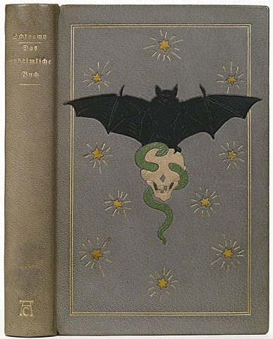 Vintage Book Covers: Spooky Beautiful Antiques