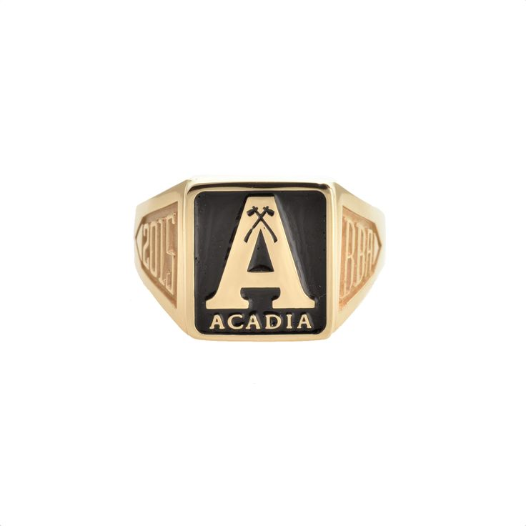 Acadia University A Grad Ring