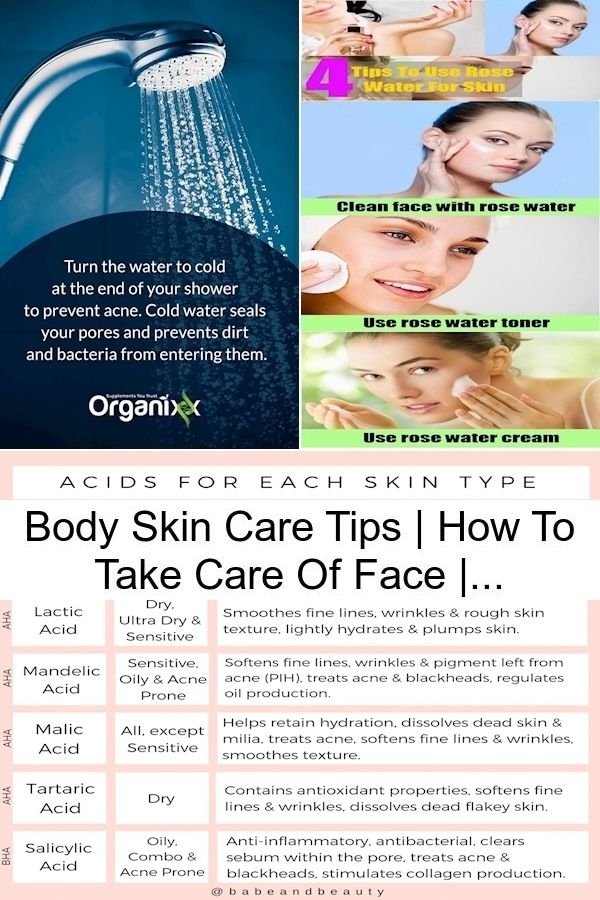 Pin On Caring For Your Skin