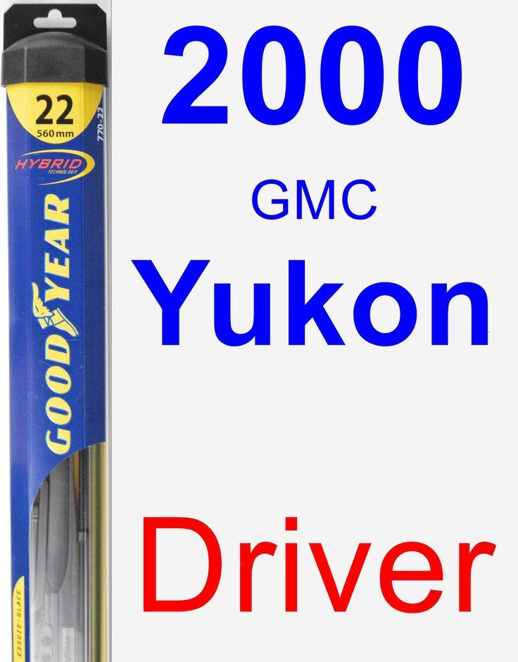 Driver Wiper Blade for 2000 GMC Yukon - Hybrid