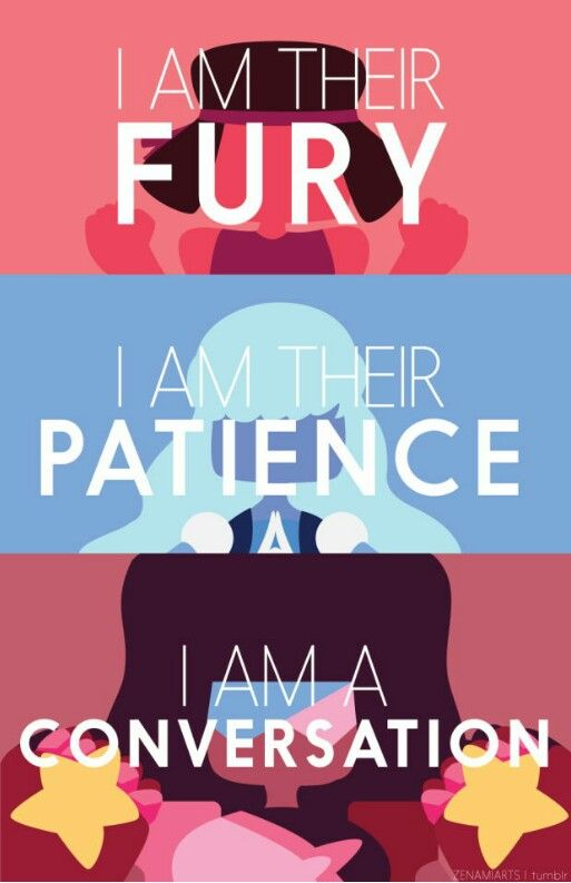 """...""""Yo soy la furia Soy la paciencia Soy una conversación""""..."""