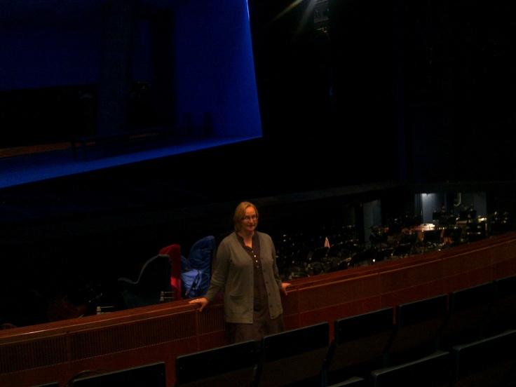 Soprano Kirsi Tiihonen talking about wagnerian singing.