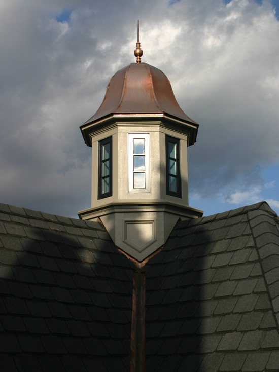 French Country Stucco Exterior With Cupola Design, Pictures ...