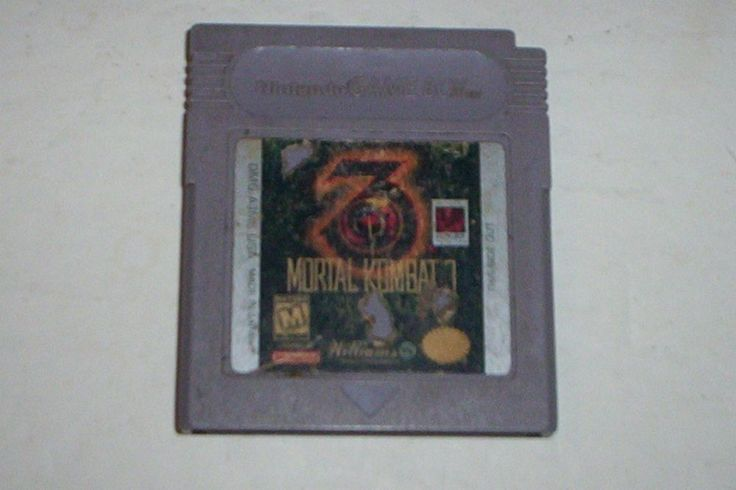 Mortal Kombat 3 (Nintendo Game Boy, 1995)