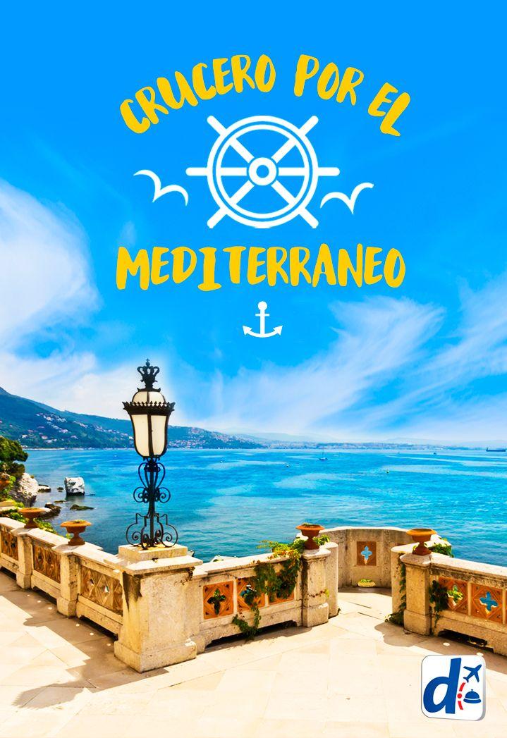 Date un gustito y viví tus próximas #VacacionesABordo. Descubrí cuáles son los mejores #CrucerosPorMediterráneo en #Despegar.com #viajar #crucero #travel