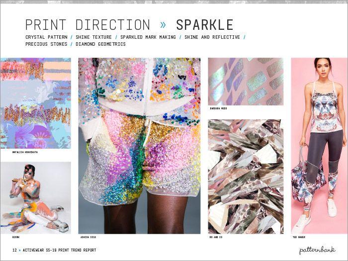 Activewear Print & Pattern Trend Report - Spring/Summer 2019 | Patternbank