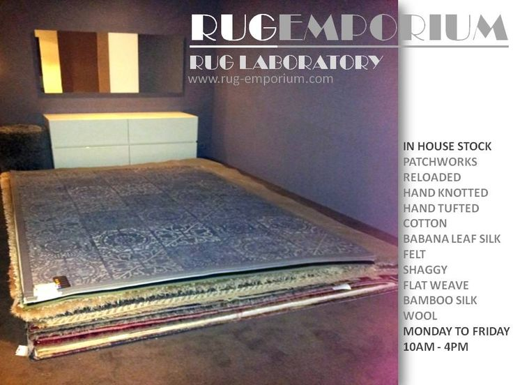 RUG-EMPORIUM SHOWROOM @ ASSIRELLI Italian Design, Upper Eastside, Pickwick Road entrance, Salt River, Cape Town, 7925. South Africa  -  View a collaboration of rugs, Italian kitchens, beds, furniture, fabric and art. Get inspired! Free parking available for customers. Monday to Friday 10am - 4pm. Contact Thomas Belcher on 084 414 8544 or e-mail: thomas@rug-emporium.com to arrange an appointment.