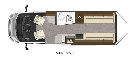 V-Line 635-SE Floorplan