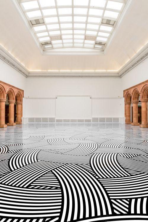 Jim Lambie, Platform, Holden Gallery, Manchester