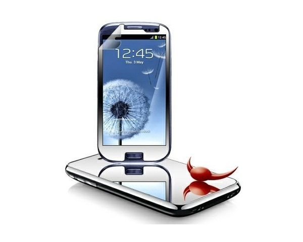 Mirror Screen Protector for Samsung Galaxy S3 I9300 – $1.5