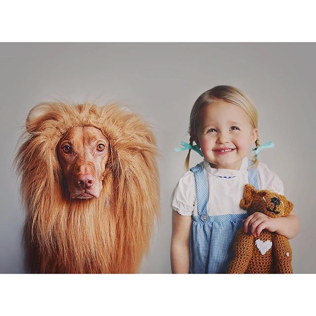 Dorothy & The Cowardly Lion ☺️