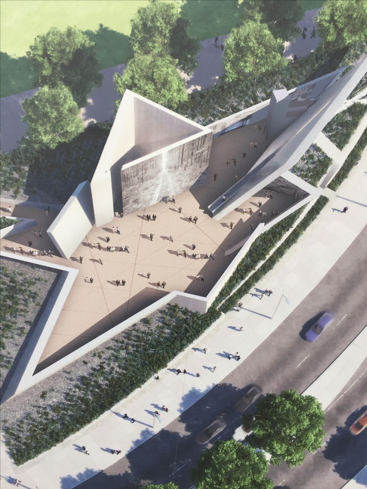 The National Holocaust Museum in Ottawa...