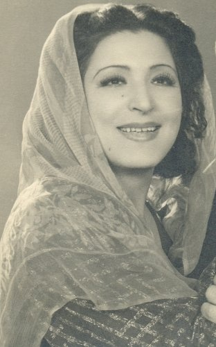 The Egyptian actress Aziza Amir (1901–1952), who produced the first long Arabic feature film in Egypt in 1923. It was the first film to be financed by Egyptian money and was named after a woman, Leila