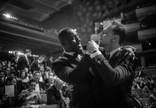"led-lite: "" twh-news: "" Tom Hiddleston and Idris Elba by Sarah Lee [x] "" Make one the new Bond and one the new Bond 'Girl' and be done with it. It's 2016. """
