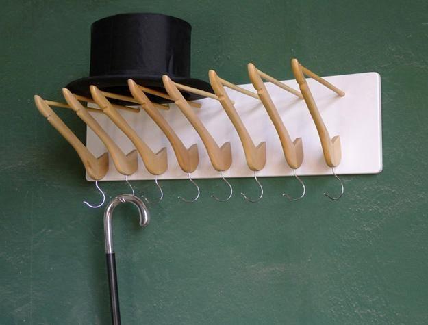 cómo reciclar para hacer ganchos bricolaje y bastidores de pared