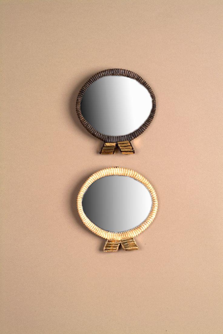 Miroirs ruban par line vautrin vers 1960 ruban for Miroir line vautrin