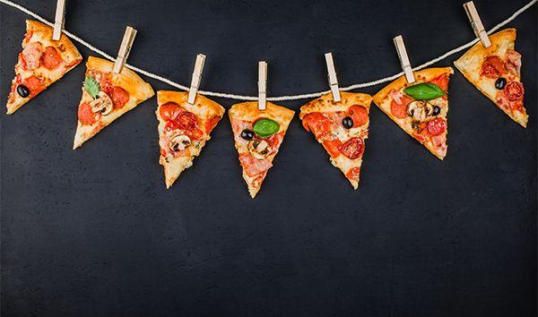 Pizza Party Decor Fotografii