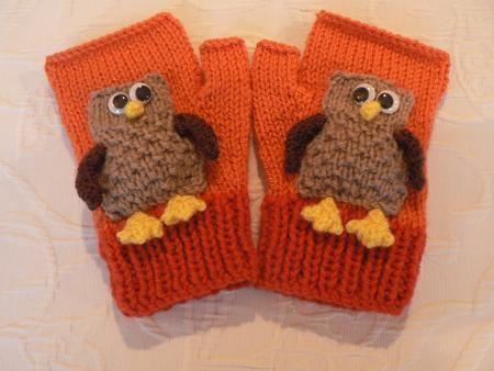 LITTLE OWL MITTENS