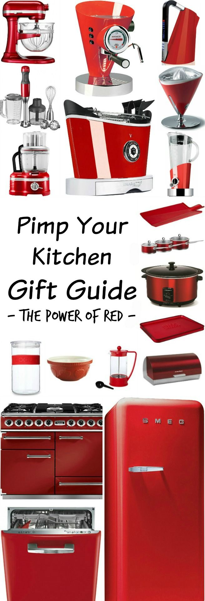 Pimp Your Kitchen Gift Guide – The Power of Red