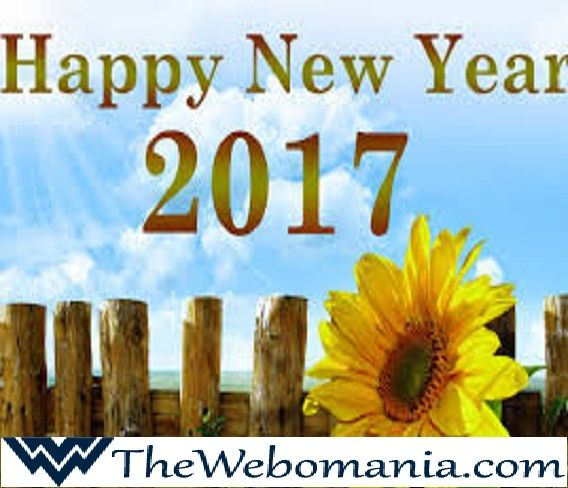 Wishing You a Very Happy, Healthy & Prosperous New Year to All My Friends From TheWebomania Team.