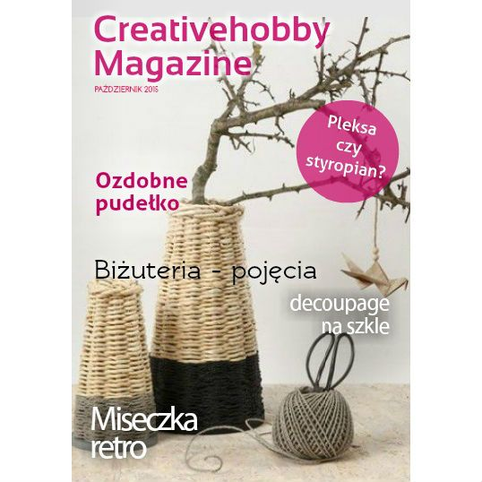 Oto październikowy numer Creativehobby Magazine, a w nim porady i inspiracje #diy #decoupage #biżuteria http://joom.ag/QLnp