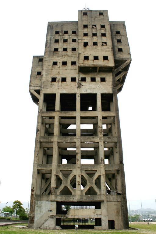 Shime Coalmine  旧志免鉱業所竪坑櫓