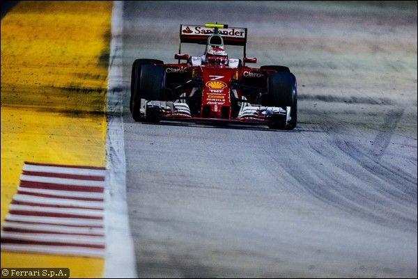 Nonostante la crisi, la Ferrari tiene e non affonda a Singapore