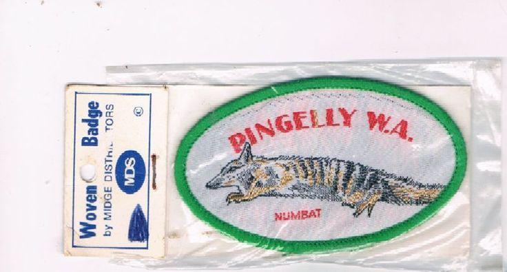 Pingelly patch numbat WA • $34.50