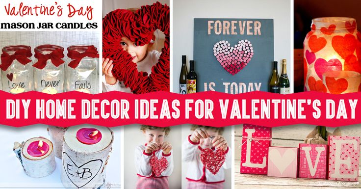 DIY Home Decor Ideas For Valentines Day So Many Cute