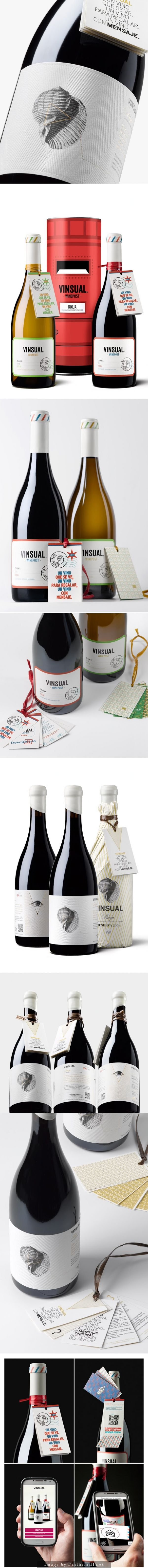VINSUAL augmented reality #wine #packaging by calcco- http://www.packagingoftheworld.com/2014/10/vinsual.html PD