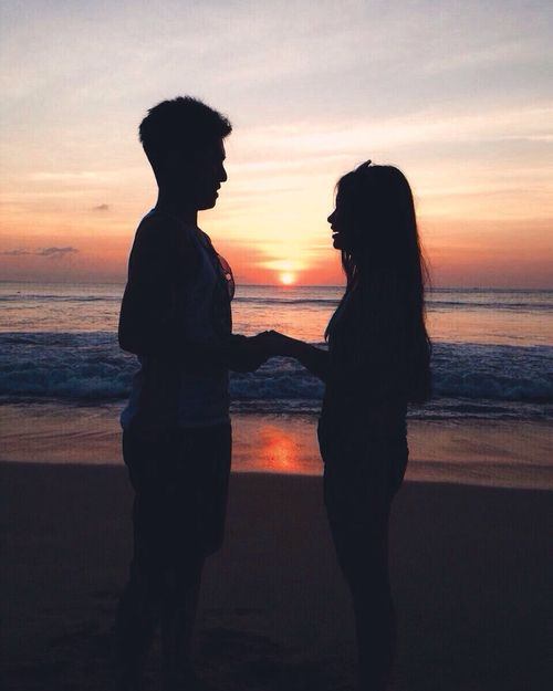 goals, Relationship, and sunset imageElegant romance,  cute couple,  relationship goals, prom, kiss, love,  tumblr, grunge, hipster, aesthetic, boyfriend, girlfriend, teen couple, young love