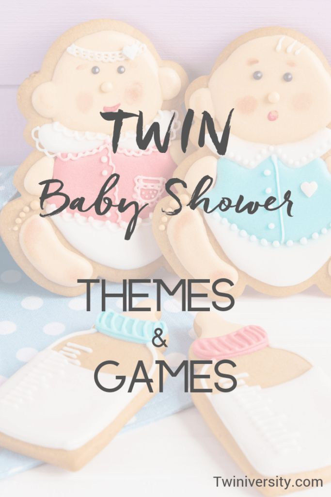 Perfect Twin Baby Shower Themes and Games