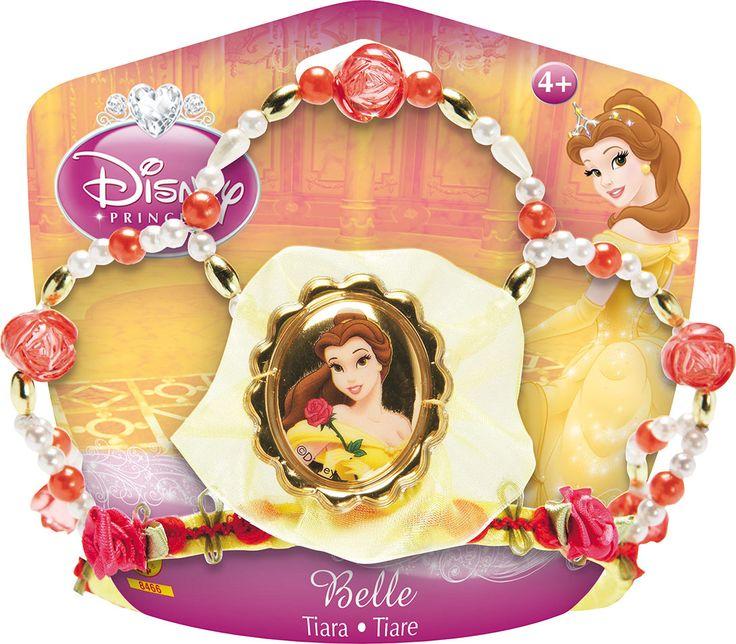 Completate il vostro costume da Belle con con questo magnifico diadema. Questo diadema permetterà di essere fissato molto discretamente nei vostri capelli. La foto della vostra principessa è elegantemente adornata da una serie di perle e da un velo di co