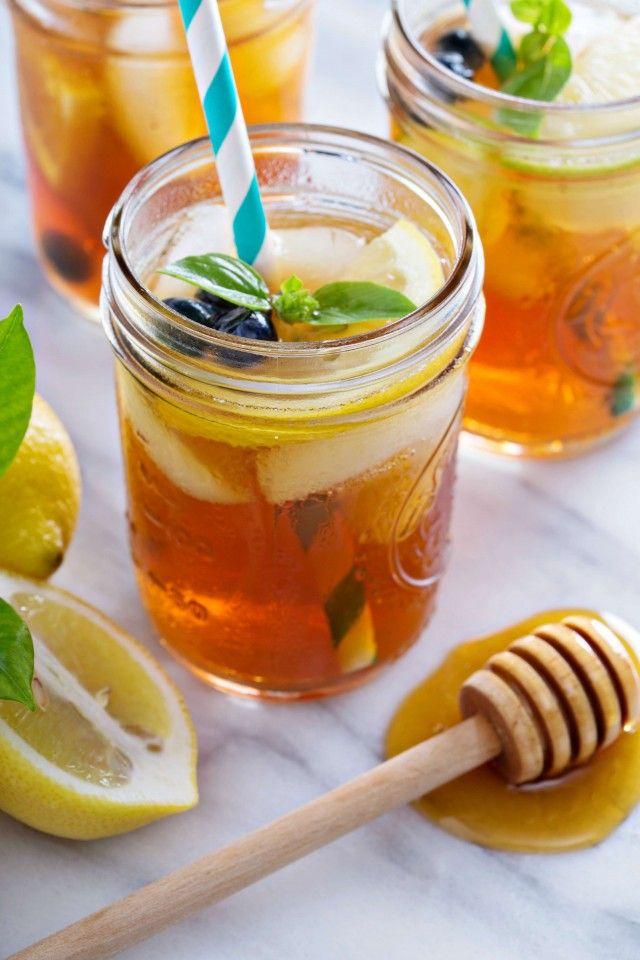 Ice tea (холодный чай) c медом » Рецепты » Кулинарный журнал Насти Понедельник. Кулинарные рецепты с фото.