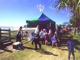 Art and Craft on the Coast Pty Ltd: Art and Craft Markets are held from 8.00 a.m. to 2.30 p.m. Sundays on the Gold Coast beachfront. They feature over 200 outdoor stalls displaying a wide variety of locally handmade products, ideal for souvenirs, mementos and unique gifts. The...