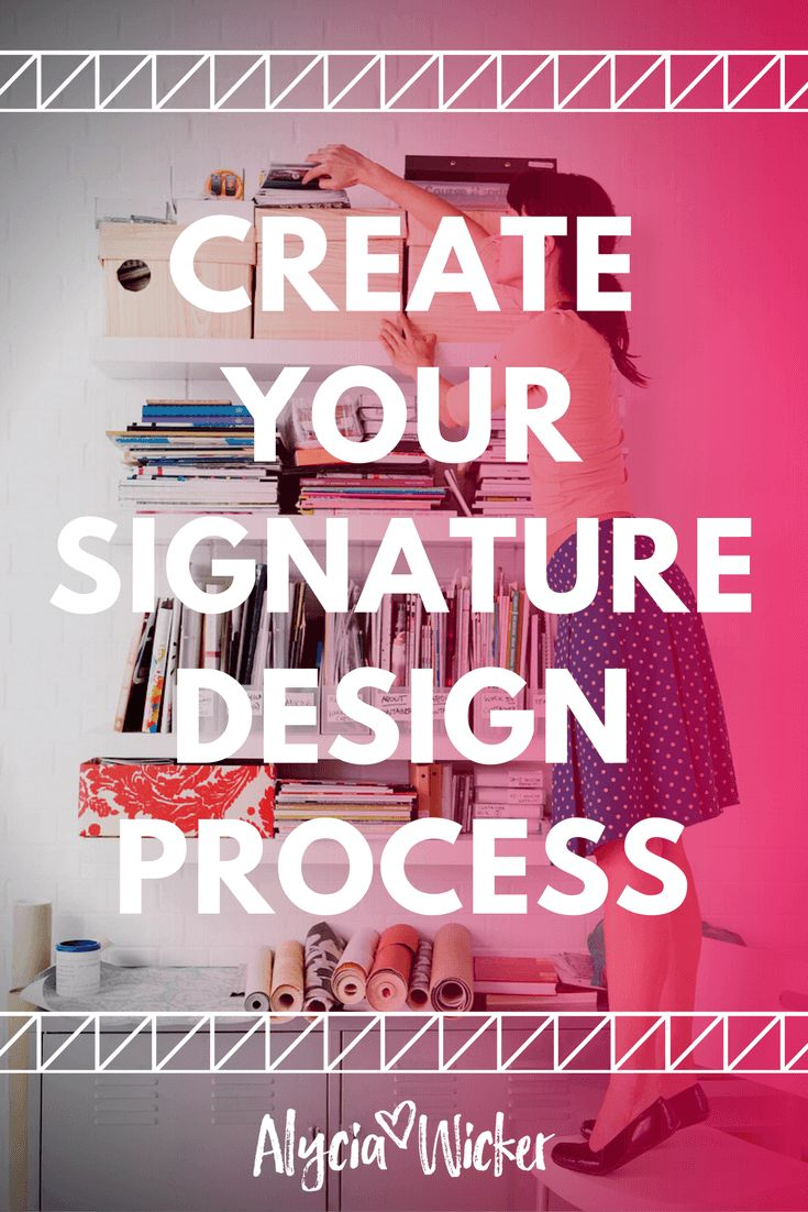 Create your signature interior design process to become more profitable.