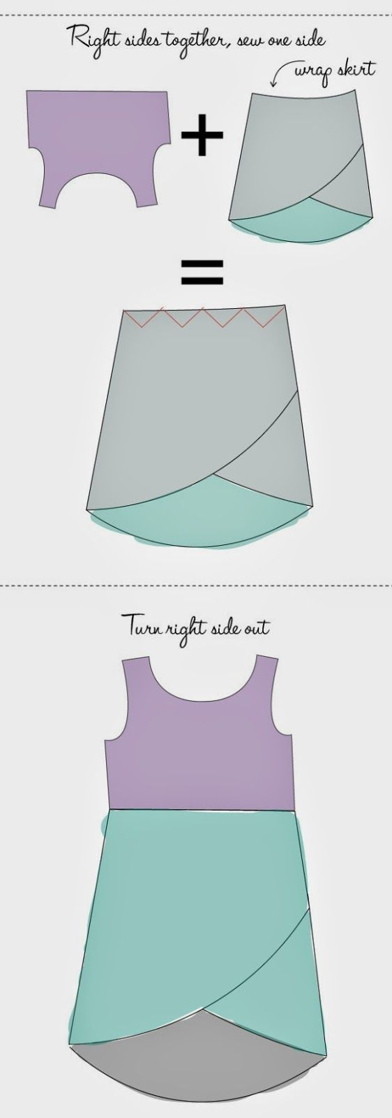 La Porta Magica - Ve a la moda cosiendo tu propia ropa. Blog de costura facil.: Patrones muy sencilllos para resultados espectaculares...