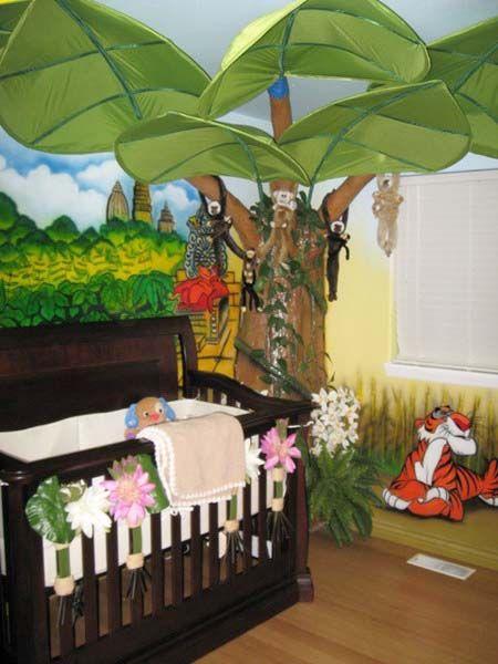 Owls Jungle Animals Wooden Bedroom Furniture Kids: 40 Best Kids Room: Jungle Images On Pinterest