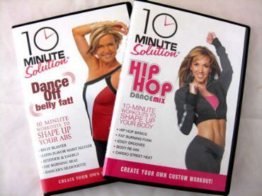 Stuff We Love: Cardio Dance DVDs from 10 Minute Solution via @SparkPeople