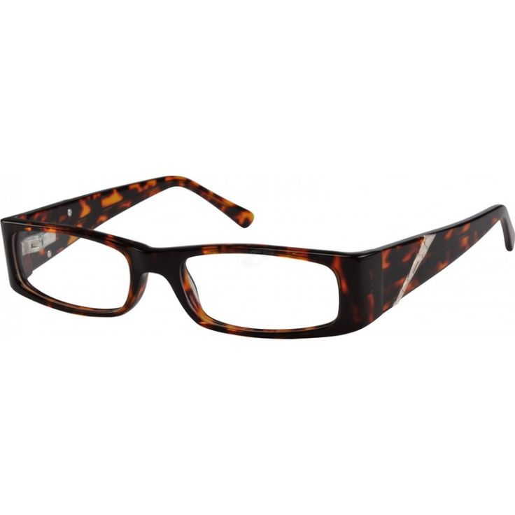 a full rim acetate frame with spring hinges and design on temples