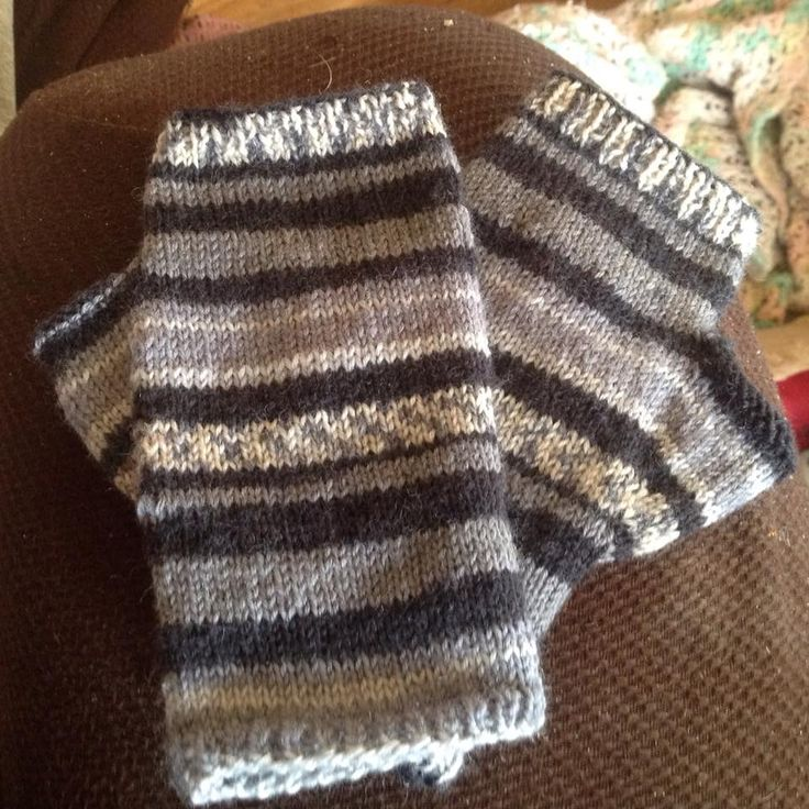 Knitting Patterns Sock Yarn Mittens : 41 best Knit ive attempted images on Pinterest