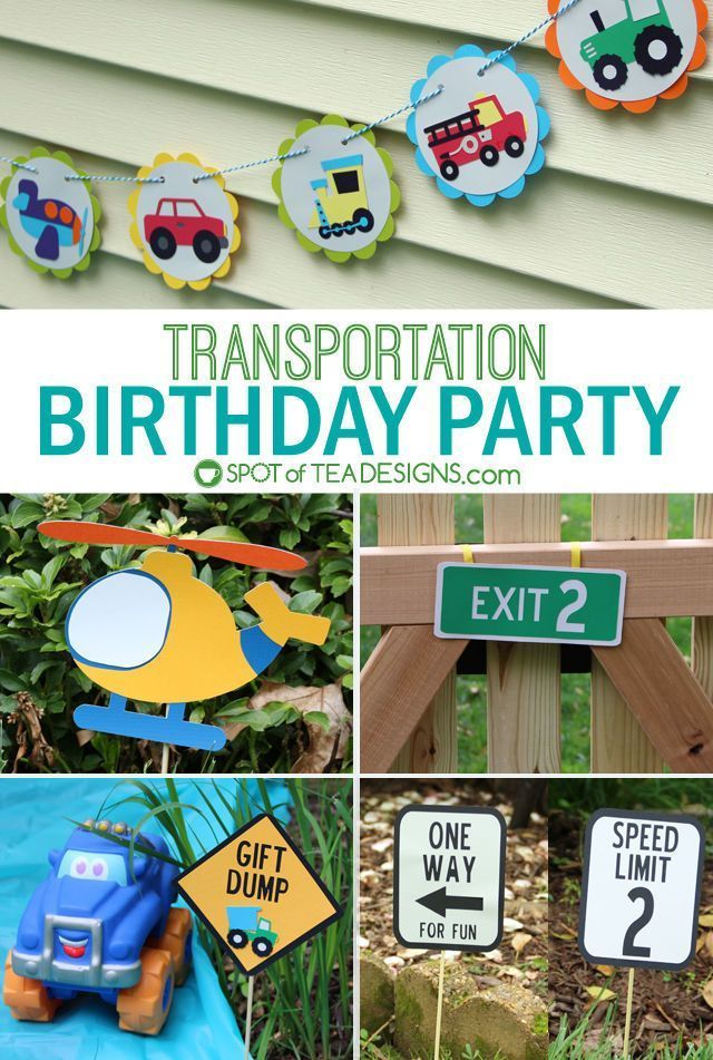 Transportation Birthday Party {GUEST POST} | Cars and Trucks