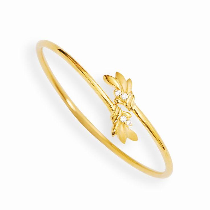Light Weight Jewellery | Stylus Sleek Twister Bangle Bracelet | GRT Jewellers